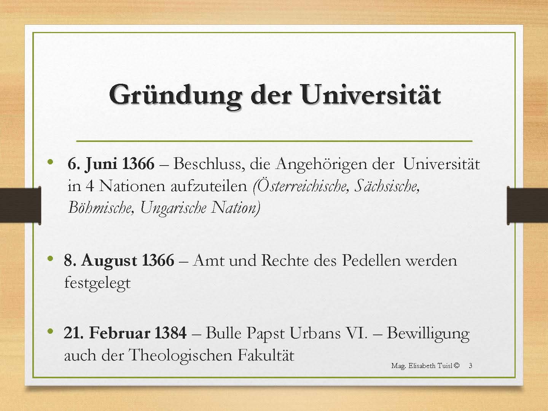 Manuskript: Die Medizinische Fakultät der Universität Wien im ...